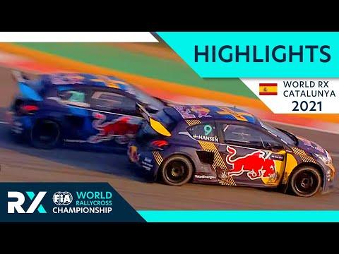 世界ラリークロス 第1戦スペイン(バルセロナ)2021年のファイナル 決勝バトルのハイライト動画
