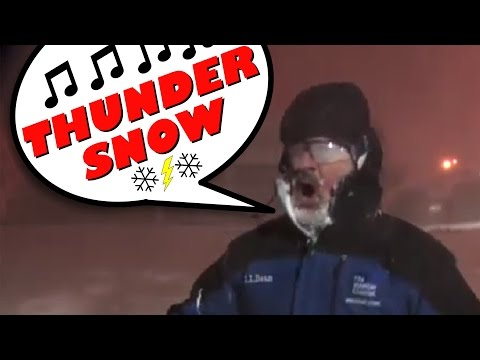 The Evening Post: Jim Cantore Songified With Thundersnow ... Good Ethics