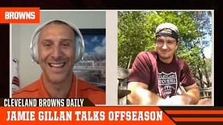 Jamie Gillan joins Cleveland Browns Daily