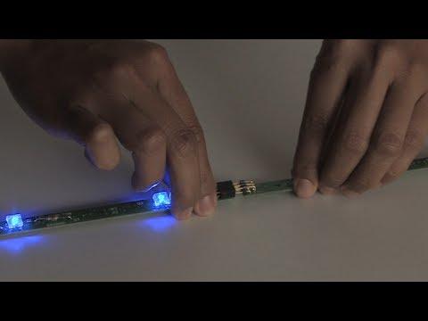 LED-Licht mit Akkubetrieb