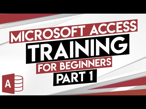 Microsoft Access Tutorial - MS Access Training for Beginners - Part 1 ...