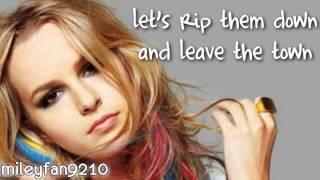 Bridgit Mendler - Love Will Tell Us Where To Go LYRICS (Hello my name is.. ALBUM)