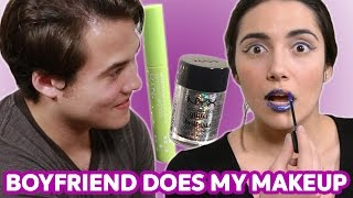 My Boyfriend Does My Makeup - Video Youtube