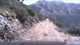 preview picture of video 'Albania Himare OFF ROAD Jeep Grand Cherokee WJ'