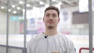 Послематчевое интервью игроков ХК «Бейбарыс» - ХК «Хумо»