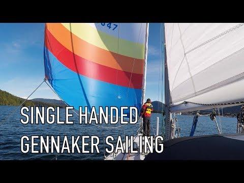 Life is Like Sailing - Single Handed Gennaker Sailing