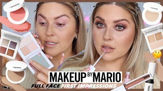 I tried MAKEUP BY MARIO cosmetics! 🎨 honest first impressions....