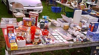 THE BEST FLEA MARKET IN PENNSYLVANIA (Awesome Baseball Finds!)