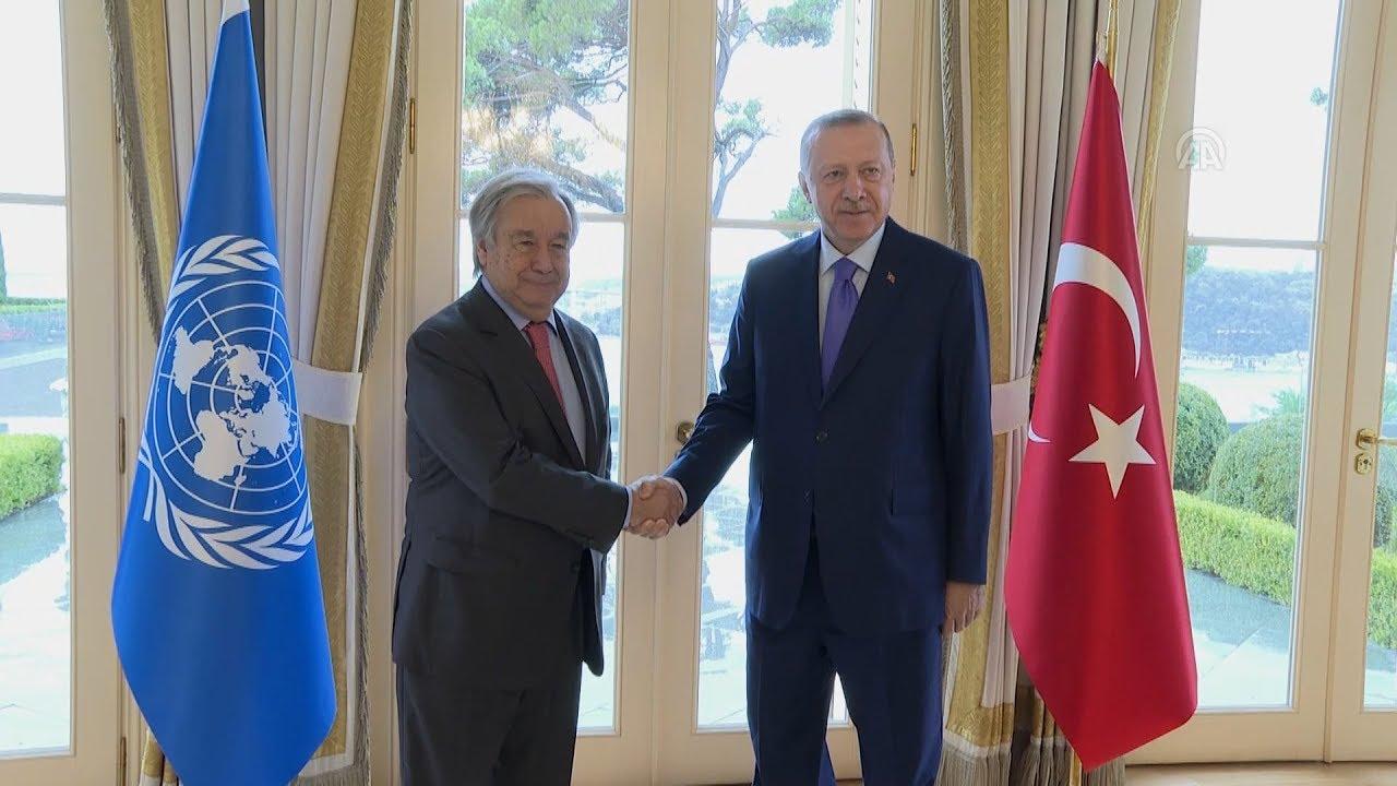 Ολοκληρώθηκε η συνάντηση Ερντογάν-Γκουτέρες