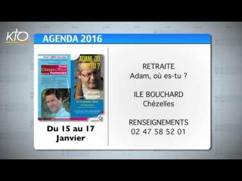 Agenda du 11 janvier 2016