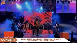 En Concert à Abidjan, Vegedream Chante 1er Gaou Et C'est Mon Année