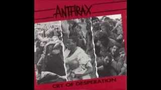 ANTHRAX - Finale - Cry Of Desperation - Live (Rare)