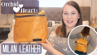 Orchid Hearts Milan Leather Bag | Packing | On The Body | Comparison