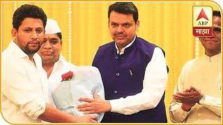 Mumbai   Sujay Vikhe Patil Joins BJP