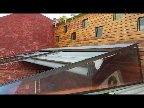 Gennius Pleated Patio Retractable Roof