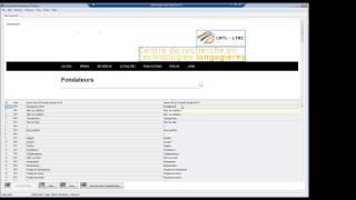 Discover the LinguisTech Virtual Desktop (CatsCradle at a glance)