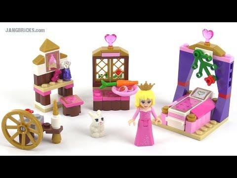 LEGO® Disney Princess™ Королевская спальня Спящей красавицы 41060