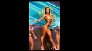 Казашка заняла 2-е место на чемпионате мира по бодибилдингу
