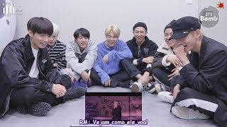 """[Bangtan Bomb] BTS Reagindo Ao MV De """"MIC Drop"""""""