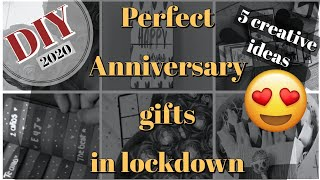 DIY Anniversary Gifts In Lockdown 2020 | Handmade Gifts | 5 Creative Ideas | Kreative Ustad