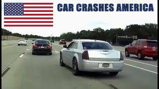 CAR CRASHES IN AMERICA 2017 - BAD DRIVERS USA #6 | NORTH AMERICAN DRIVING FAILS