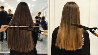10 Top Amazing Ways To Cut Long Hair.Long Hair Cut Transformation Tutorial Compilation