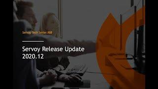 Servoy in 2021 plus launch of 2020.12 - part 2