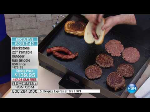 HSN | Kitchen Innovations featuring Blackstone Griddle Premiere 03.24.2017 - 06 PM