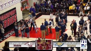 Girls Semi-State Basketball @ Logansport Oak Hill vs Central Noble