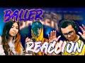 REACCIONANDO a BALLER - LUCHO ssj | Reacción J-Lis