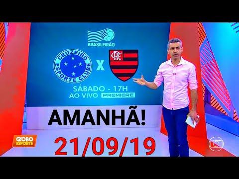 ⏭️GLOBO ESPORTE - Ederson a jovem promessa do Cruzeiro tem boa recordação no duelo contra o Flamengo