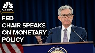 Fed Chair Jerome Powell speaks on monetary policy amid coronavirus pandemic – 4/29/2020