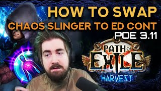 How to Swap - Chaos Slinger to ED Contagion Chaos Inoculation