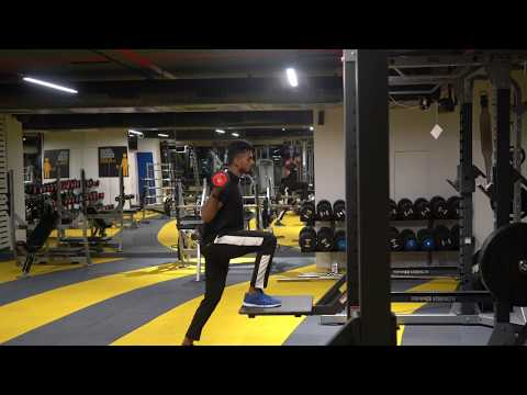 Barbell Step-up