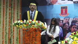 Convocation 23rd Batch 2019: Chief Guest Address by Prof. (Dr.) Sujit Kumar Dubey
