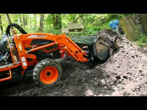 Kioti Tractor Backhoe Review - смотреть онлайн на Hah Life
