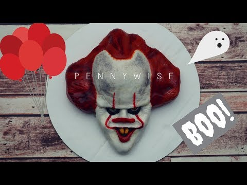 PENNYWISE THE CLOWN CAKE!!! | Prudence Blue