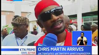 Jamaican star Chris Martin arrives in Kenya for Vybs radio big deal concert at KICC on Saturday