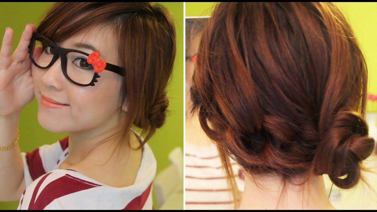 Saçların her gün için basit ve güzel saç stilleri