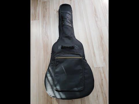 Gitarrentasche, Ubegood Gitarrenhülle Wasserdichte Oxford Gitarren-Bag gepolsterte Tasche 41 zolle