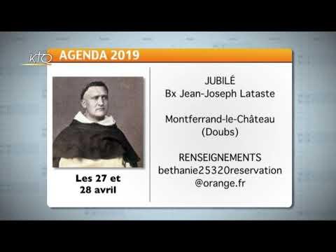 Agenda du 12 avril 2019