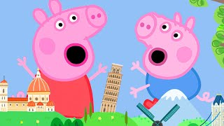Peppa Pig Official Channel   Peppa Pig Becomes a Giant at the Tiny Land