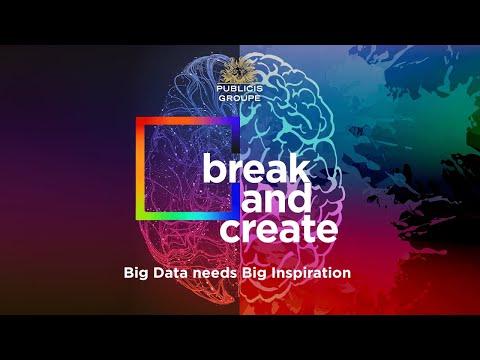 break and create: Big Data needs Big Inspiration (Round Table #4)