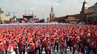 3000 боксирующих на Красной площади