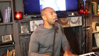 Tank Performing 'Please Don't Go' Live at 'Stronger' Album Listening Event 5/6/14