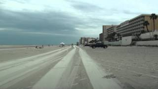 DRIVING ON SAND IN DAYTONA BEACH, FL