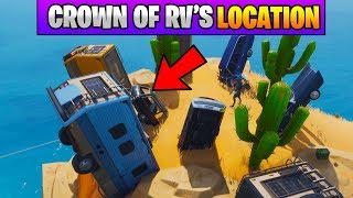 Fortnite Dance on Top of a Crown of RV's Location (Stage 1) Fortnite Season 7 Week 1 Challenges