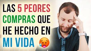 Video: Las 5 PEORES Compras Que He Hecho En Mi Vida