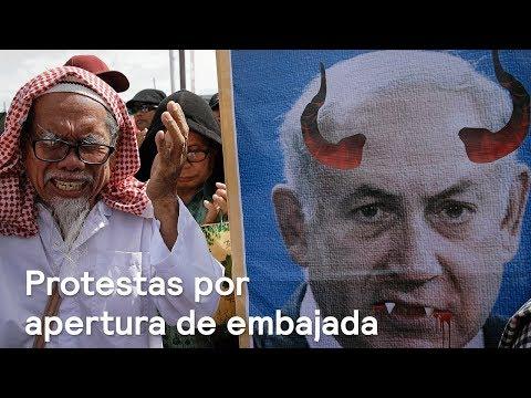 Protesta por apertura de Embajada de EE.UU. en Jerusalén deja 60 muertos - Despierta con Loret