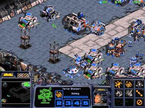 StarCraft BroodWar - Gameplay - Terran vs Zerg (CPU).